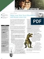 Kidz Klub, December 2011 Newsletter