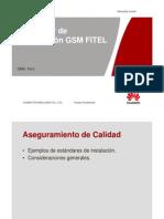 Quality Standard Installation FITEL V2