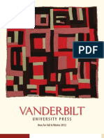 Vanderbilt University Press Fall 2012 Catalog