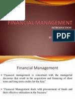 Unit 1 Financial Management