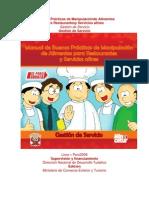 Manual de BPM en Cafeterías