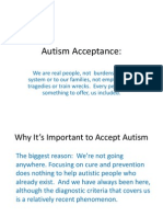 Autistic Self Advocacy Network with Autism NOW 4-3-2012