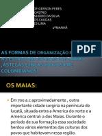 AS FORMAS DE ORGANIZAÇÃO POLITICA   E AS ESTRUTURA