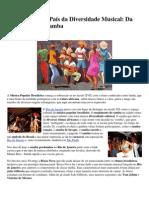 Diversidade Musical Do Samba a Bossa Nova