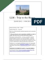 Trip to Hague 2012