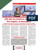 100 días de Gobierno de Rajoy
