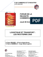 9-Fr-Logistique Et Transport Les INCOTERMS 2000