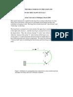 Perkins Loop Dynamics