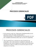 procesos gerenciales Yacambú