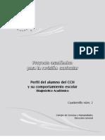 Caudernillo 2 Proyecto Academico Revision Curricular - Perfil Del Alumno de CCH