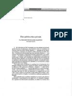 Etica Publica y Privada