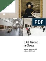 Catalogo Del Greco a Goya