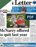 News Letter Front 6 April