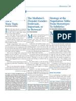 Alternatives Article on ADR Diversity April 2012