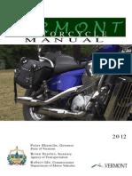 Vermont Motorcycle Manual | Vermont Motorcycle Handbook