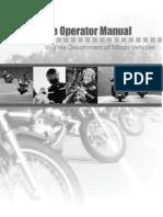 Virginia Motorcycle Manual | Virginia Motorcycle Handbook