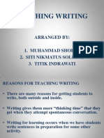 Teaching Writng g1 g2