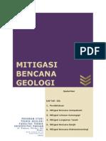Cover Buku Mitigasi Bencana Geologi