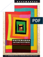 Universidad Intercultural Modelo Educativo