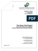 Sioux City Project - 2011 White Paper