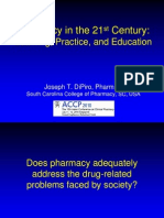 Dipiro - Pharmacy in the 21st Century