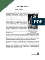 Biografía de Baden Powell por William Hillcourt