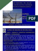 Clase+N°+01-MECANICA+DE+SOLIDOS+I-2010-I