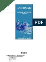 La Nube Del No Saber (Anónimo)