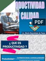 Calidad y Productividad 2
