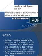 Corticosteroid after etomidate in Critically Ill