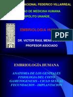 Embriología 2012