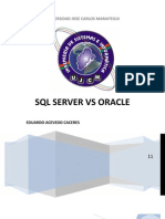 Diferencias Entre Oracle y Ms SQL Server