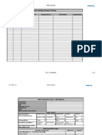 WBS Based Estimation Template