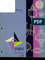 Progress Lighting Catalog 1960
