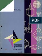 Progress Lighting Catalog 1960