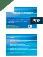 1. Programa Peruano de Certificación - 2012