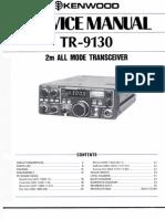 TR-9130 Service Manual