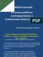 CDG - Realidad peruana, procesos políticos, y crisis de representación
