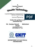 Stealth technology seminar report