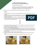 RPD Step by Step Protocol