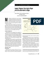Kernig - Brudzinsky Sign