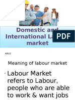 Domestic and International Lobor Mkt.ppt