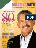 Ever Increasing Faith Magazine - Spring 2012