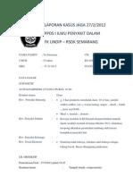 Laporan Kasus Jaga 27 Februari 2012, Diare