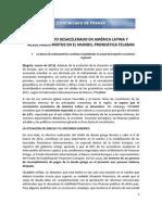 Marzo 26 - Crecimiento Desacelerado en America Latina y Resultados Mixtos en El Mundo Pronostica Felaban (1)