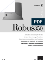 Nice Robuskit Manual