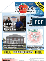 Frederick County Report,  April 6 - 19, 2012