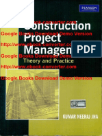 Construction Project Management by Kumar Neeraj Jha