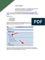 ABAP Report Wizard - ReadMe