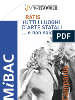 Campania Settimana Cultura 2012